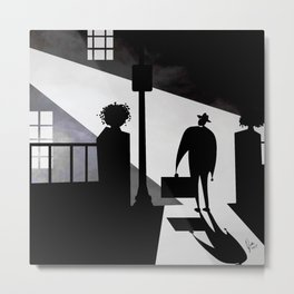 Friedkin's The Exorcist Metal Print