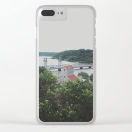 rivertown Clear iPhone Case