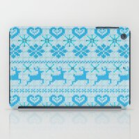 knitting iPad Cases featuring Scandinavian Knitting by Vannina