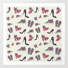 Lovely  shoes Art Print