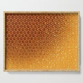 Honeycomb Serving Tray