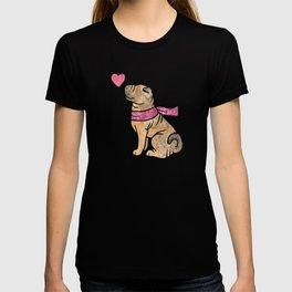Watercolour Shar Pei T-shirt