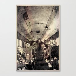 Train Ride Canvas Print