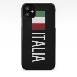 Italy: Italia & Italian Flag iPhone Case