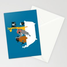 Everybody wants to be the pirate Stationery Cards