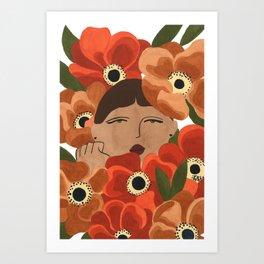 Stalker Gal Art Print