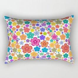 New age flower power Rectangular Pillow