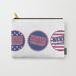 Never Trump (Triple) Carry-All Pouch