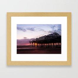 The Pavilion Sunrise Framed Art Print