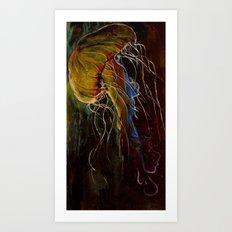 Medusa's Crown Art Print