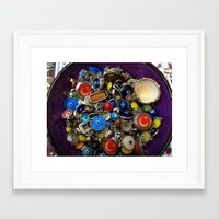 evil eye Framed Art Prints featuring Evil Eye by cmnelson