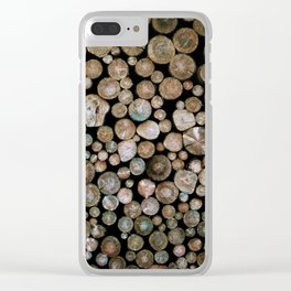 Woodpile Clear iPhone Case