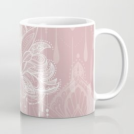 Blush mandala Coffee Mug