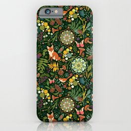 Treasures of the emerald woods iPhone Case
