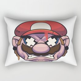 It's me..Angry Mario Rectangular Pillow