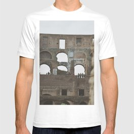 Close up of the Colosseum in Rome, Italy   Europe Travel Photography T-shirt