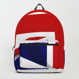 Union Jack Grunge Backpack