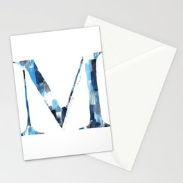Letterforms M : Margo Stationery Cards