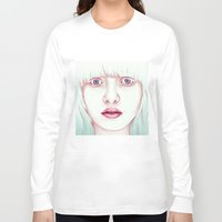 jem Long Sleeve T-shirts featuring GIRL by Laura O'Connor