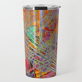 """""""I've Been Searching For a Way to Escape the Cold Light of Day"""" [A Simple Constraint Series] Travel Mug"""