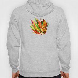 autumn abstract digital painting Hoody