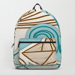 Beach fish sea Backpack