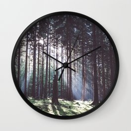 Magic forest - Landscape and Nature Photography Wall Clock