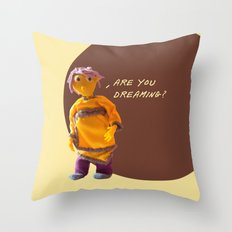 are you dreaming? Throw Pillow