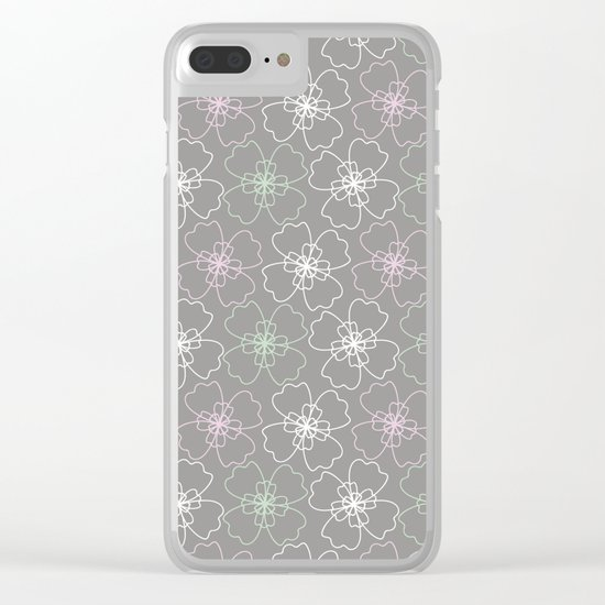 ornament Clear iPhone Case