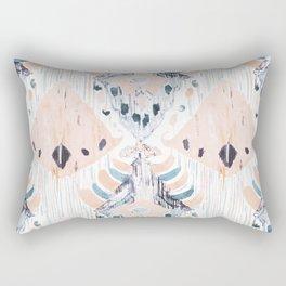 tranquilla balinese ikat Rectangular Pillow