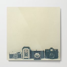 Camera Collection Metal Print