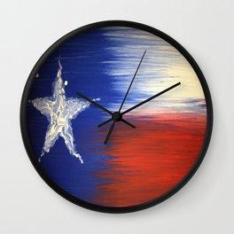Texas Pride Wall Clock