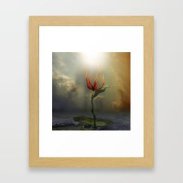 Alone Framed Art Print