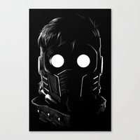 starlord Canvas Prints featuring Starlord by John Amor