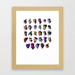 Xsqwad Framed Art Print