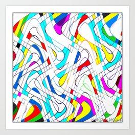 Wavy Works Art Print