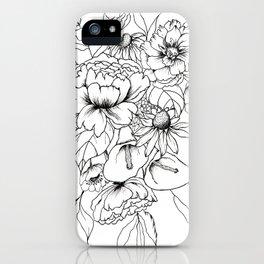 Botanical Bouquet iPhone Case