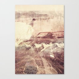Over The Edge/Ooh Child Canvas Print