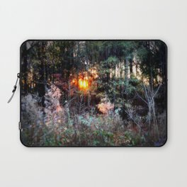 Sunset Forest : Where The Fairies Dwell Laptop Sleeve