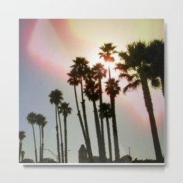 Palms Remix Metal Print