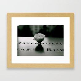9/11 MEMORIAL Framed Art Print