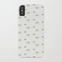 PIG PATTERN iPhone Case