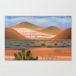 La Choya Canvas Print