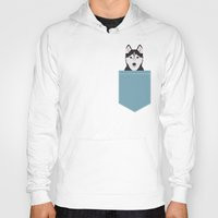 Hoodies featuring Shiloh - Husky Siberian Husky dog art phone case perfect gift for dog people by PetFriendly