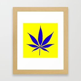 Weed Hash Bash Framed Art Print