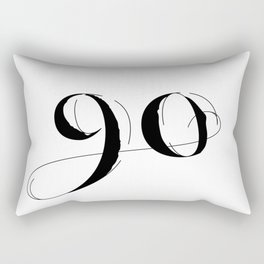 Ninety Rectangular Pillow