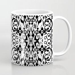 Queens black and white Coffee Mug