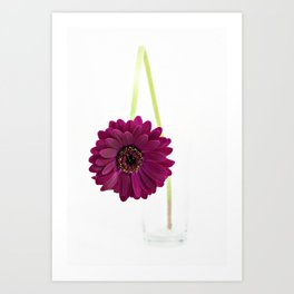 Simply Purple Art Print