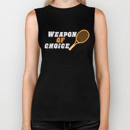 Tennis Tennisplayer Racket Tenniscoach Gift Biker Tank