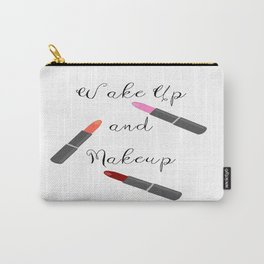 Wake Up And Makeup Carry-All Pouch
